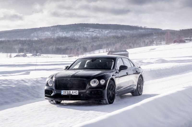 2018 Bentley Continental Flying Spur 10