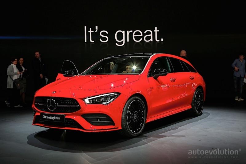2019 - [Mercedes-Benz] CLA Shooting Brake II 3766b710