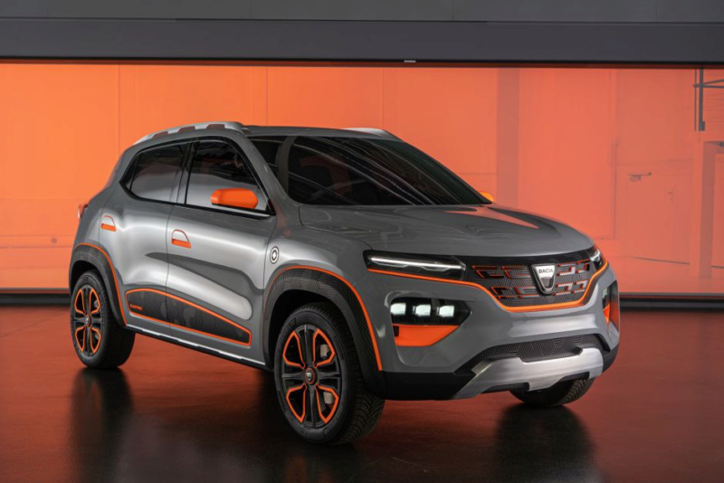 2020 - [Dacia] Spring (show car) 39c40910