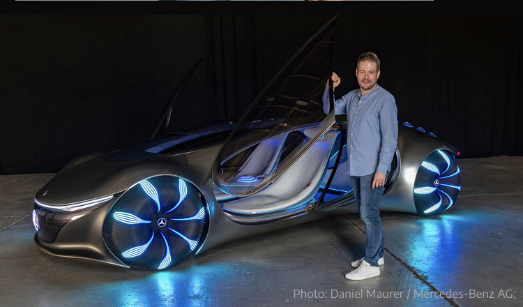 2020 - [Mercedes] Vision Avtr concept 3ac3a710
