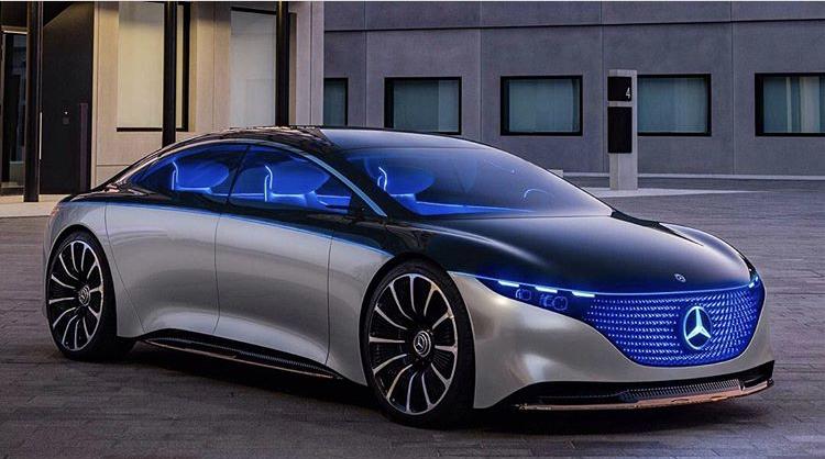 2019 - [Mercedes-Benz] EQS Concept  3f0ee710