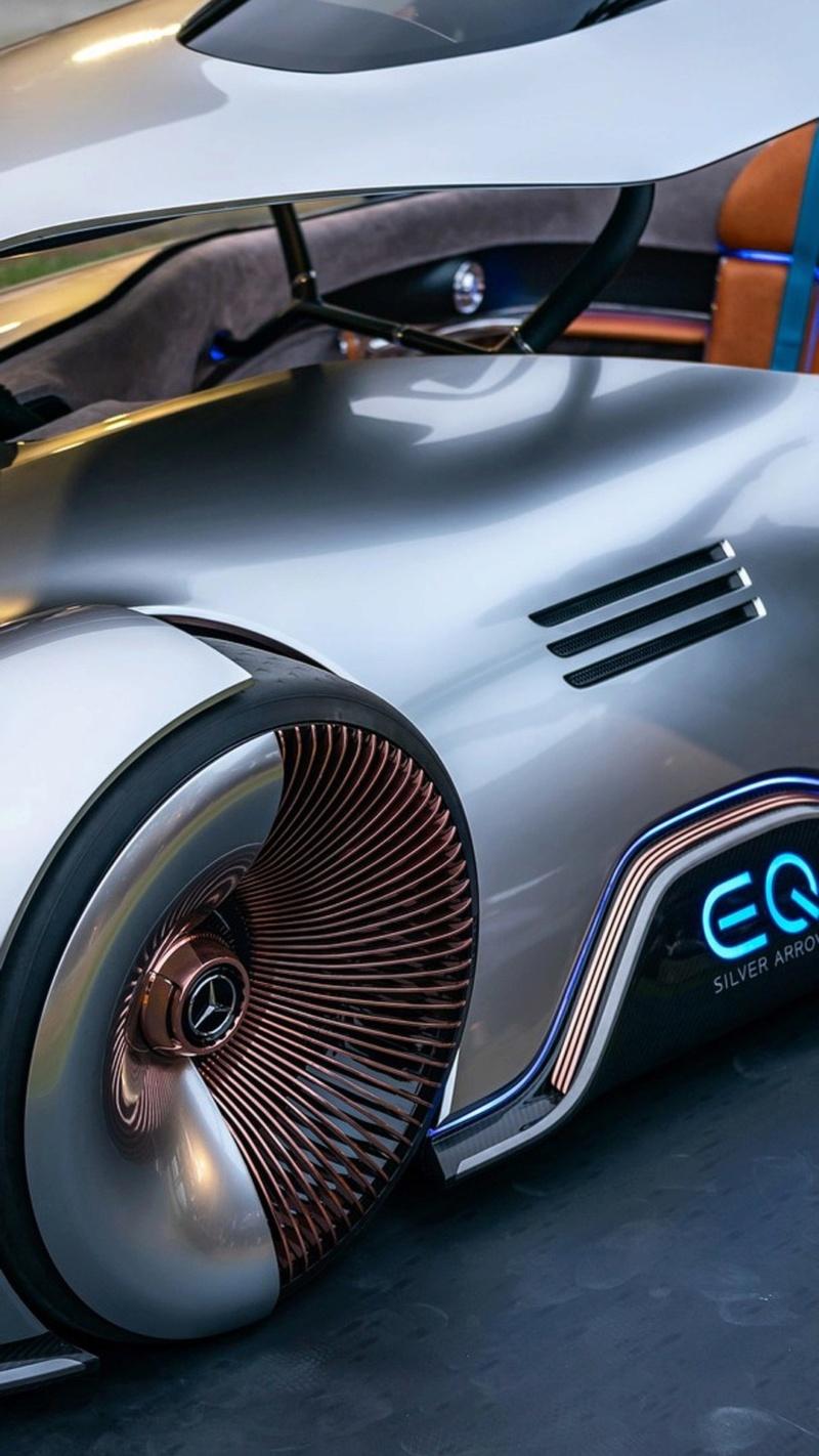 2018 - [Mercedes] EQ Silver Arrow Concept (Pebble Beach) - Page 2 403ffa10