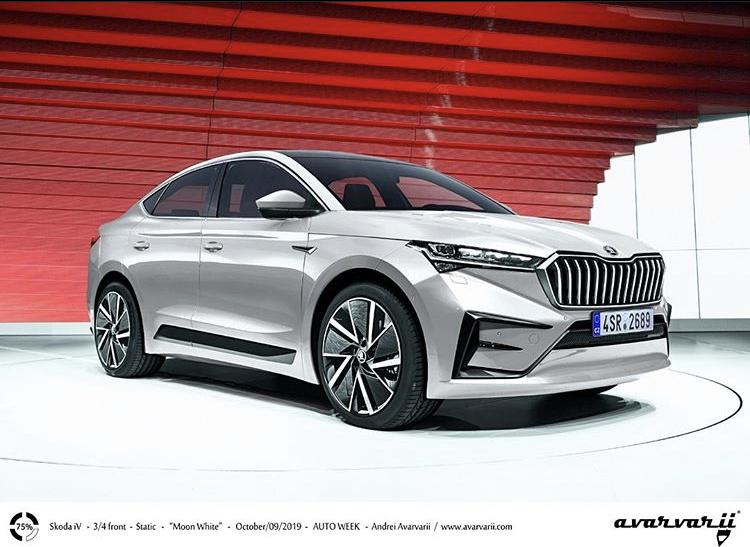 2021 - [Skoda] SUV EV 454c1810