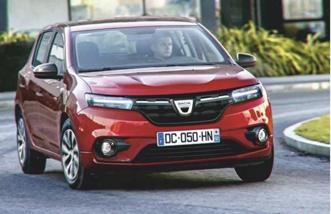 2020 - [Dacia] Spring (show car) 45ed9610