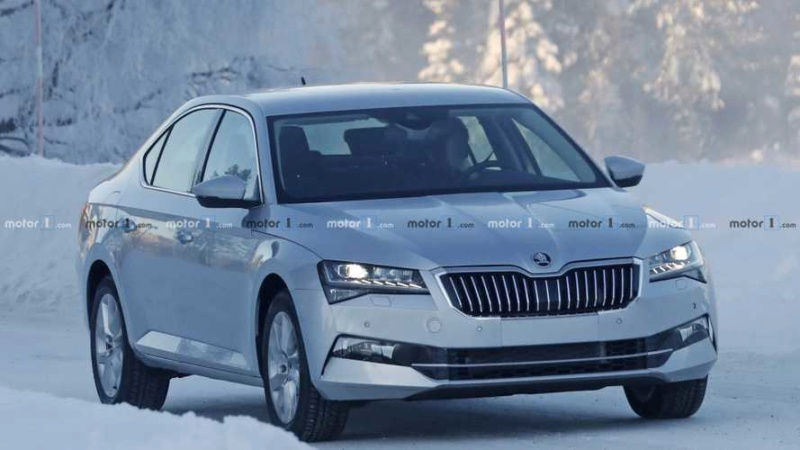 2018 - [Skoda] Superb restylée  46654410