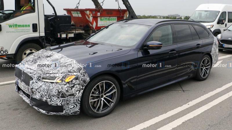 2020 - [BMW] Série 5 restylée [G30] - Page 2 46ae7410