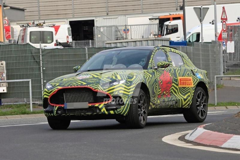 2019 - [Aston Martin] DBX - Page 2 4901b110
