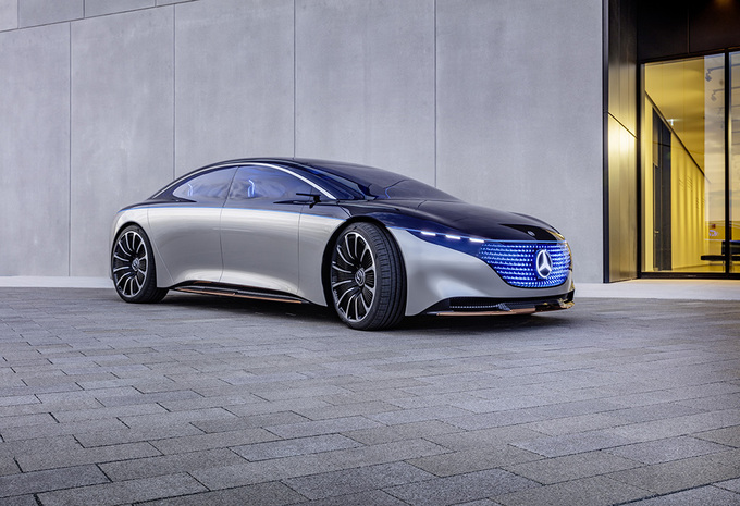 2019 - [Mercedes-Benz] EQS Concept  - Page 2 4a03fe10