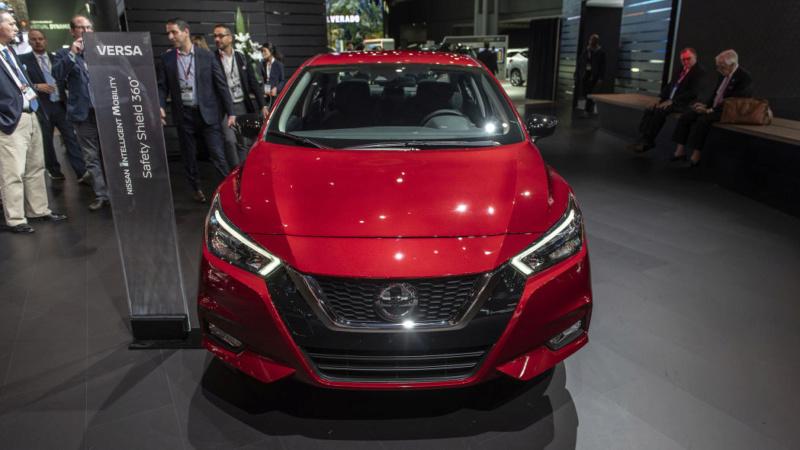 2020 - [Nissan] Versa 4cd7d810