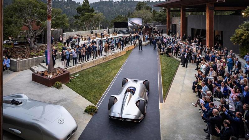 2018 - [Mercedes] EQ Silver Arrow Concept (Pebble Beach) - Page 2 525d9f10