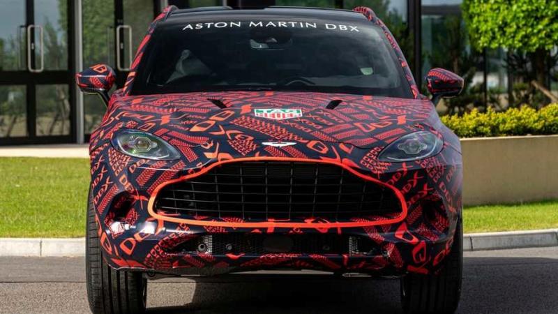 2019 - [Aston Martin] DBX - Page 3 54832a10