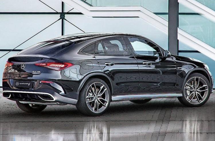 2022 - [Mercedes-Benz] GLC Coupé II 55317810