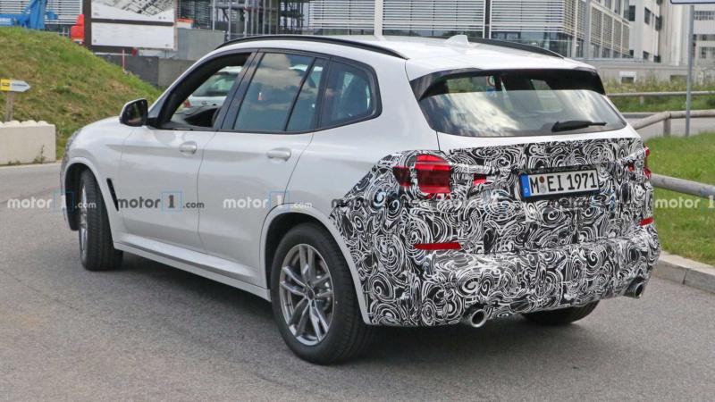 2021 - [BMW] X3 restylé  583fcd10
