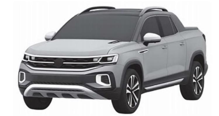 2020 - [Volkswagen] Tarok / MQB Pick-Up  5b560810