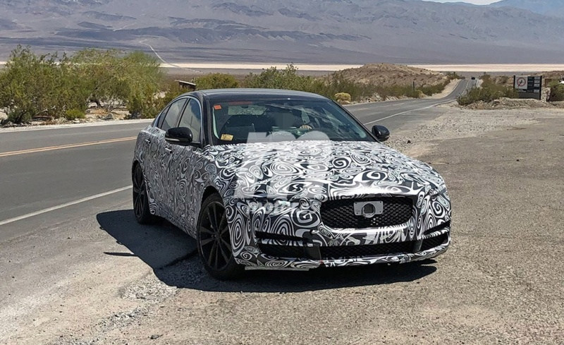 2019 - [Jaguar] XE restylée  5b644710