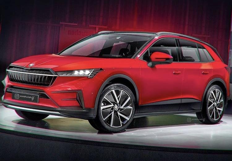 2021 - [Skoda] SUV EV 5fed7510