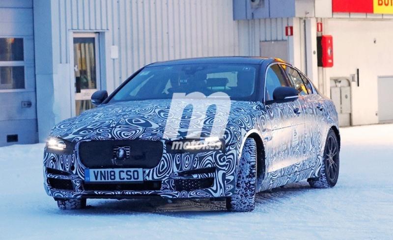 2019 - [Jaguar] XE restylée  60d7d510