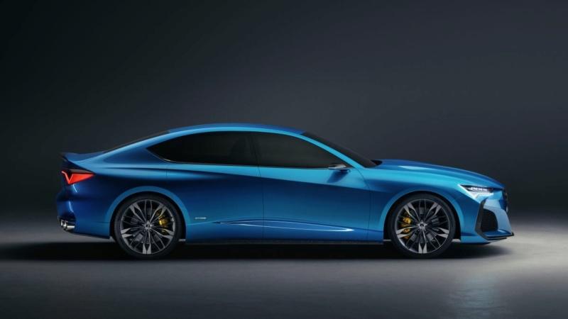 2019 - [Acura] Type S Concept 639e2710