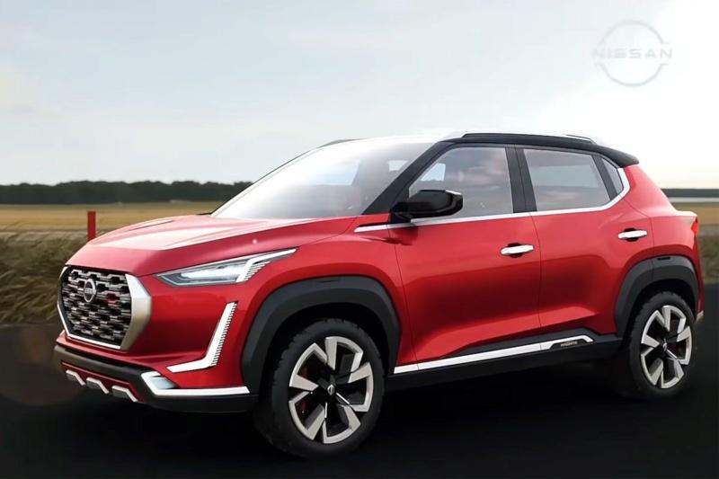 2020 - [Nissan] Magnite Concept 6ebea110
