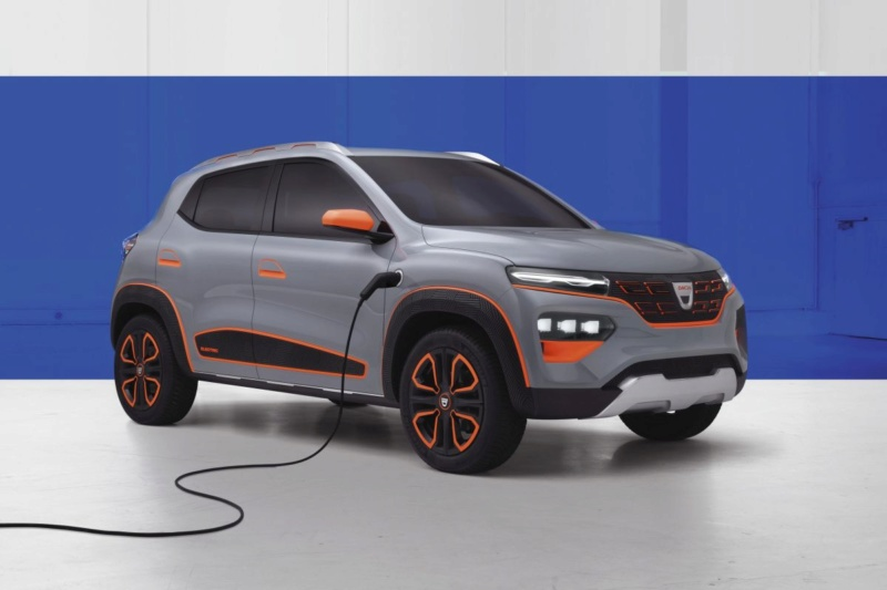 2020 - [Dacia] Spring (show car) 6fa4c210