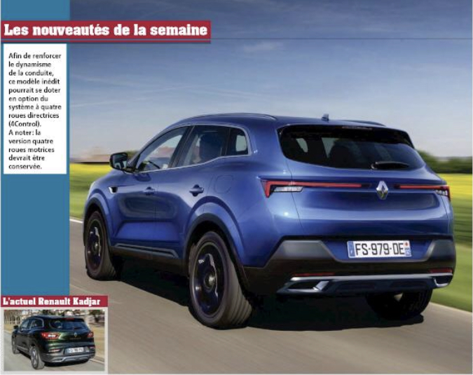 2021 - [Renault] Kadjar II 73640310