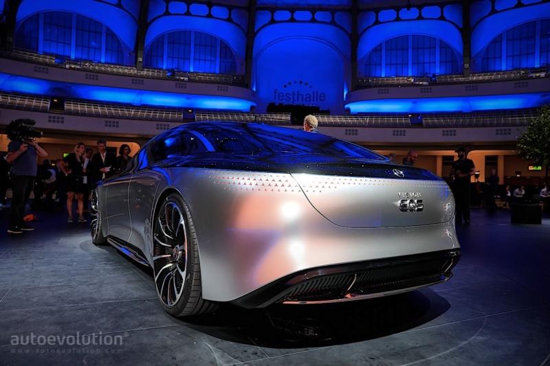 2019 - [Mercedes-Benz] EQS Concept  - Page 2 73d29f10