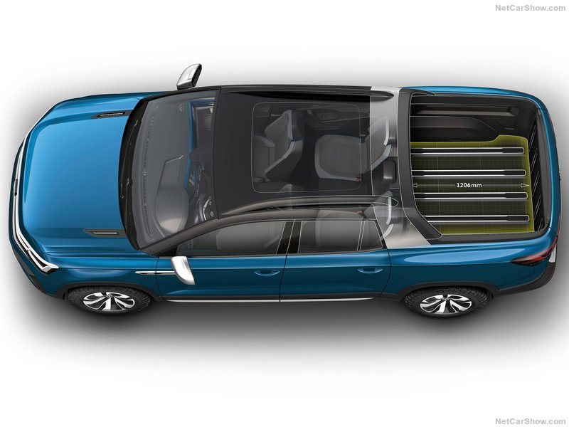 2020 - [Volkswagen] Tarok / MQB Pick-Up  783e2010