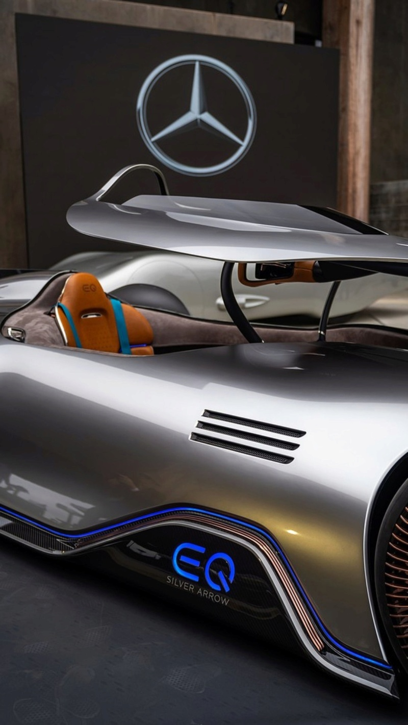 2018 - [Mercedes] EQ Silver Arrow Concept (Pebble Beach) - Page 2 7f126210