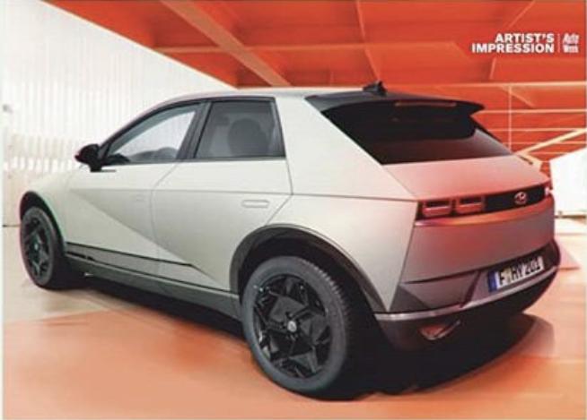 2021 - [Hyundai] SUV EV 86e93f10