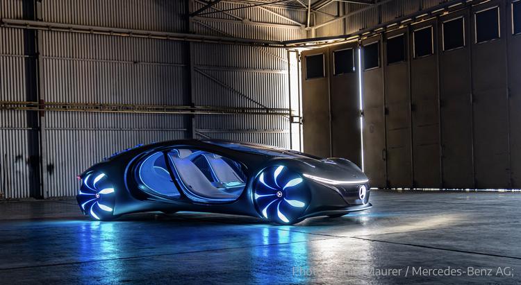 2020 - [Mercedes] Vision Avtr concept 87321510