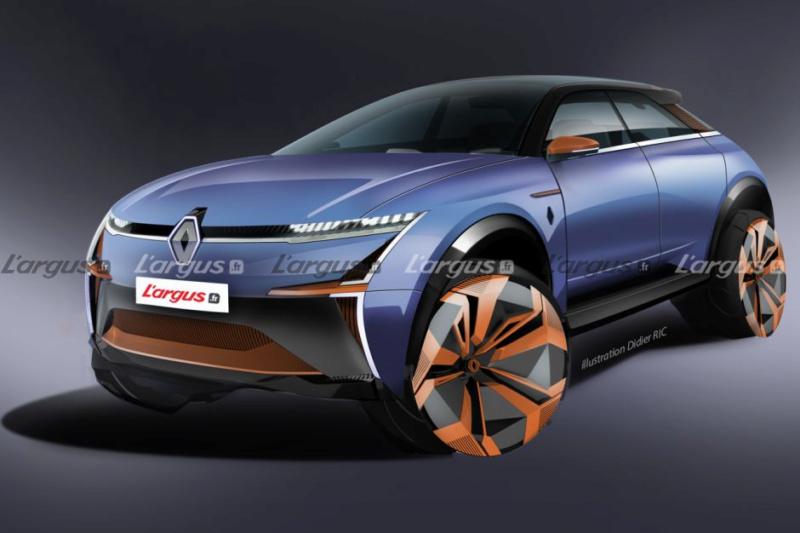 2021 - [Renault] SUV EV [BCB] 8ba35010