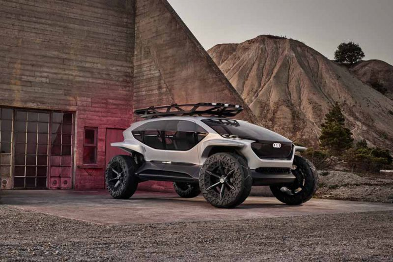 2019 - [Audi] AI:me E-Tron / AI:Trail Quattro - Page 2 91f0b310