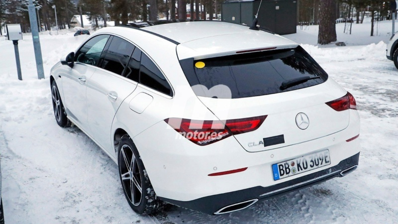 2019 - [Mercedes-Benz] CLA Shooting Brake II 954bc510
