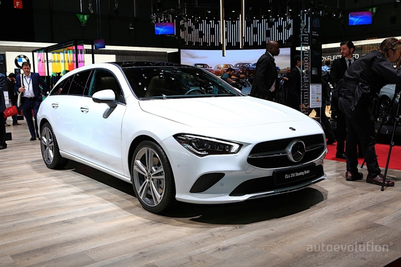 2019 - [Mercedes-Benz] CLA Shooting Brake II 95e14410
