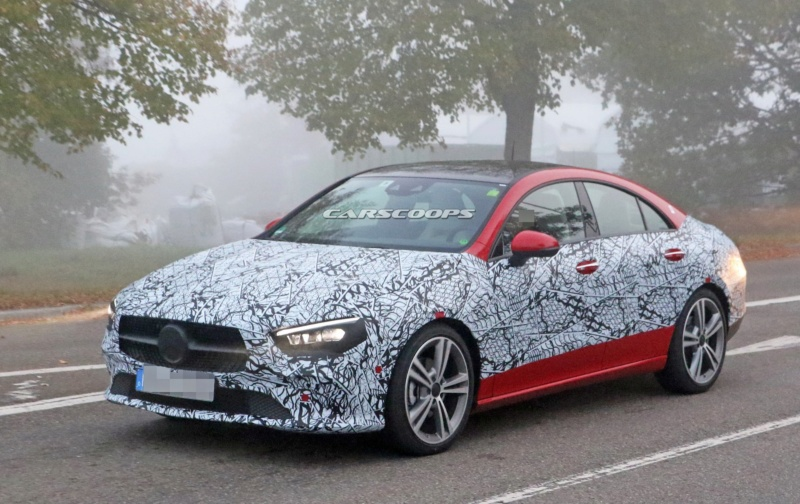 2019 - [Mercedes-Benz] CLA II - Page 3 97c44210