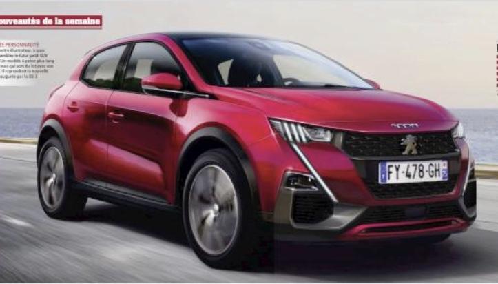 2016 - [Peugeot] 1008/2008 Coupé - Page 6 99338510