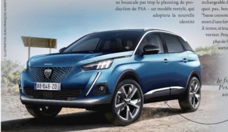 2020 Peugeot 3008 II Restyling 11