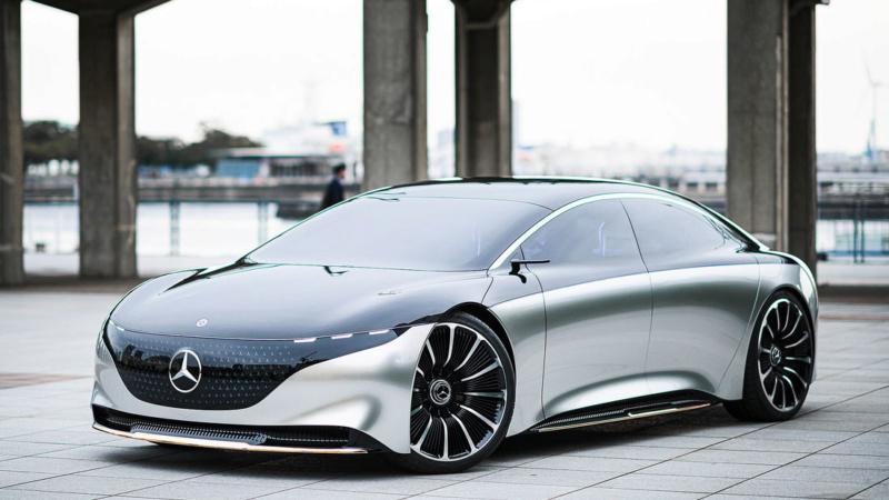 2019 - [Mercedes-Benz] EQS Concept  - Page 3 A1018