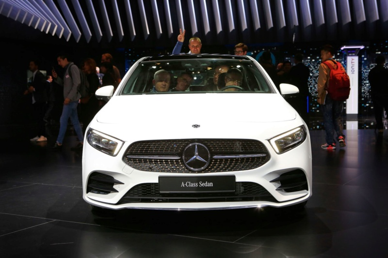 2018 - [Mercedes-Benz] Classe A Sedan - Page 6 A1e54f10