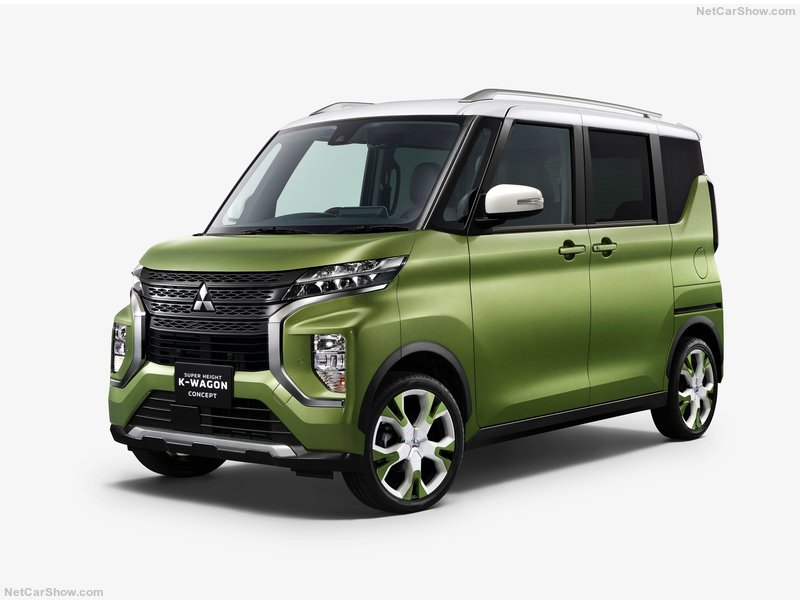 2019 - [Mitsubishi] Super Height K-Wagon Concept A4007710