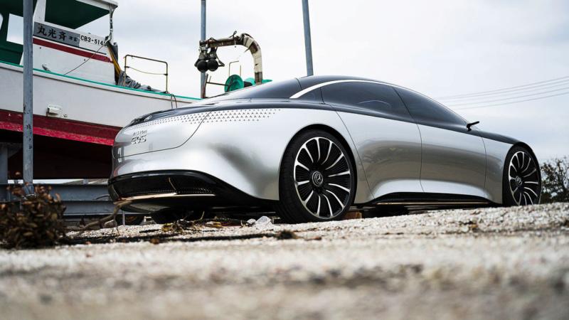 2019 - [Mercedes-Benz] EQS Concept  - Page 3 A529