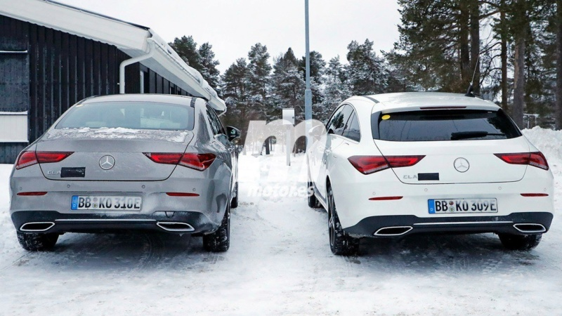 2019 - [Mercedes-Benz] CLA Shooting Brake II A6423d10