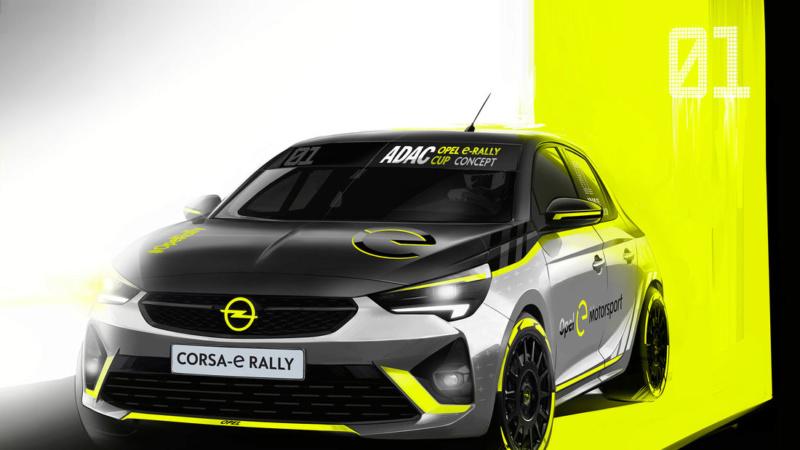 2019 - [Opel] Corsa e-Rally A816