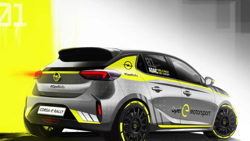 2019 - [Opel] Corsa e-Rally A916