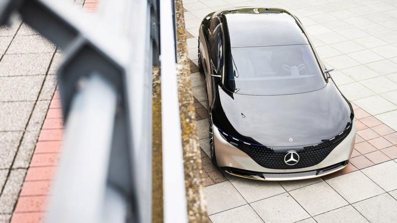 2019 - [Mercedes-Benz] EQS Concept  - Page 3 A926