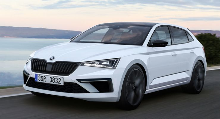 2019 Škoda Scala (Rapid/Spaceback II) 4