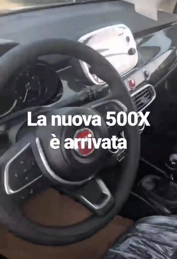 2018 - [Fiat] 500X restylé - Page 2 Af5bf310
