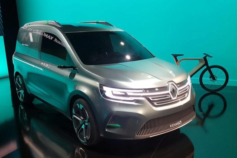 2019 - [Renault] Kangoo Z.E Concept B110
