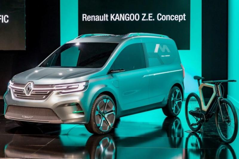 2019 - [Renault] Kangoo Z.E Concept B210
