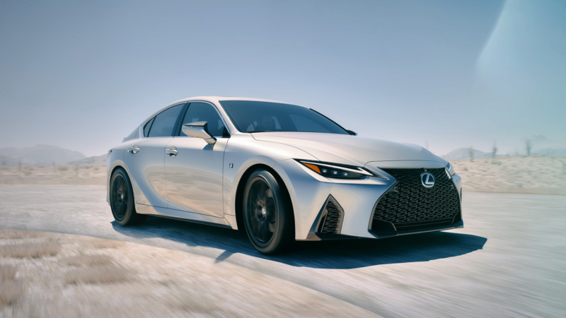 Lexus IS (2020) 52